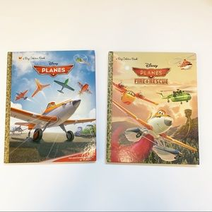 Set of 2 Disney Planes books